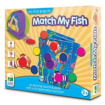 The Learning Journey My First Grab It! - Match My Fish - An Exciting Matching