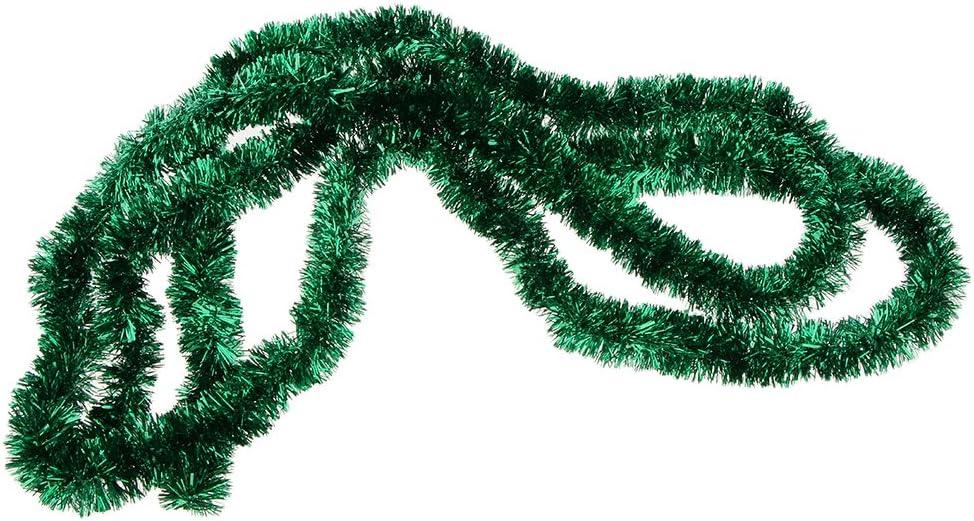 PETSOLA Chrismas Lametta Girlanden Baum H/ängen Dekoration Weihnachtsgirlanden Gold