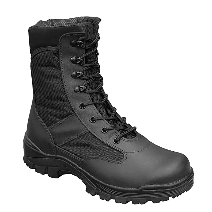 Surplus Security Boots, Talla 45, Color Negro, Color Negro, Talla 45