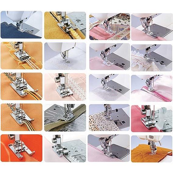 Kit 42 pies Máquina para coser perfecto accesorios Patchwork costura ...