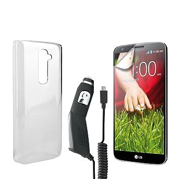 Xqisit - Set completo para LG G2 (protector de pantalla ...