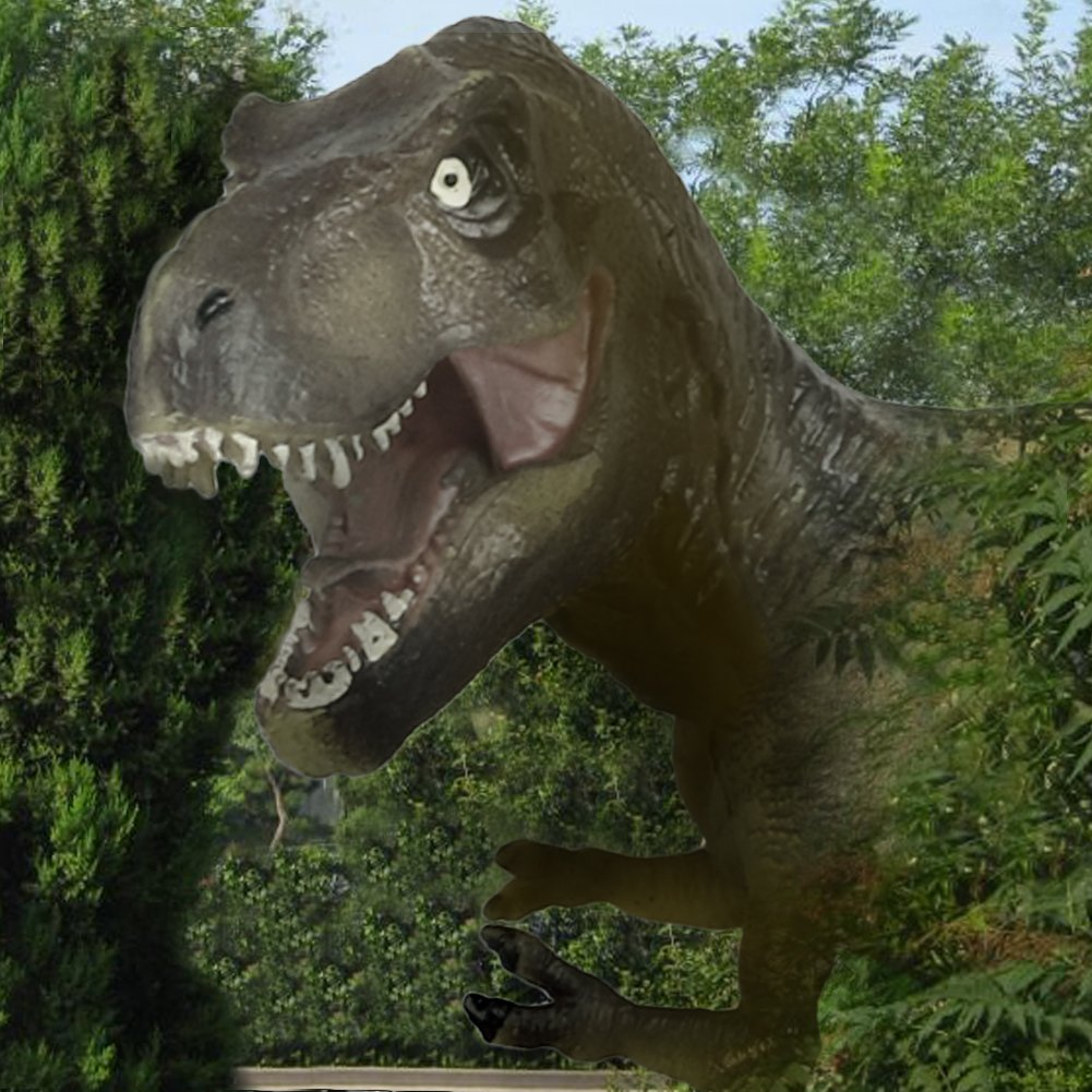 Fajiabao Tyrannosaurus Dinosaur Toy Realistic T Rex for Toddlers Kids Girls Boys Educational Toy Great Halloween