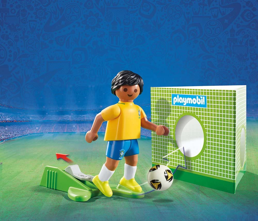 Playmobil Fútbol- Jugador Aleman Playset de Figuras de Juguete ...