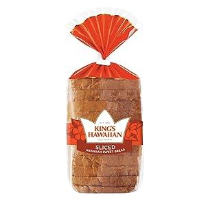 King's Hawaiian Original Hawaiian Sweet Sliced Bread Pack of 8)
