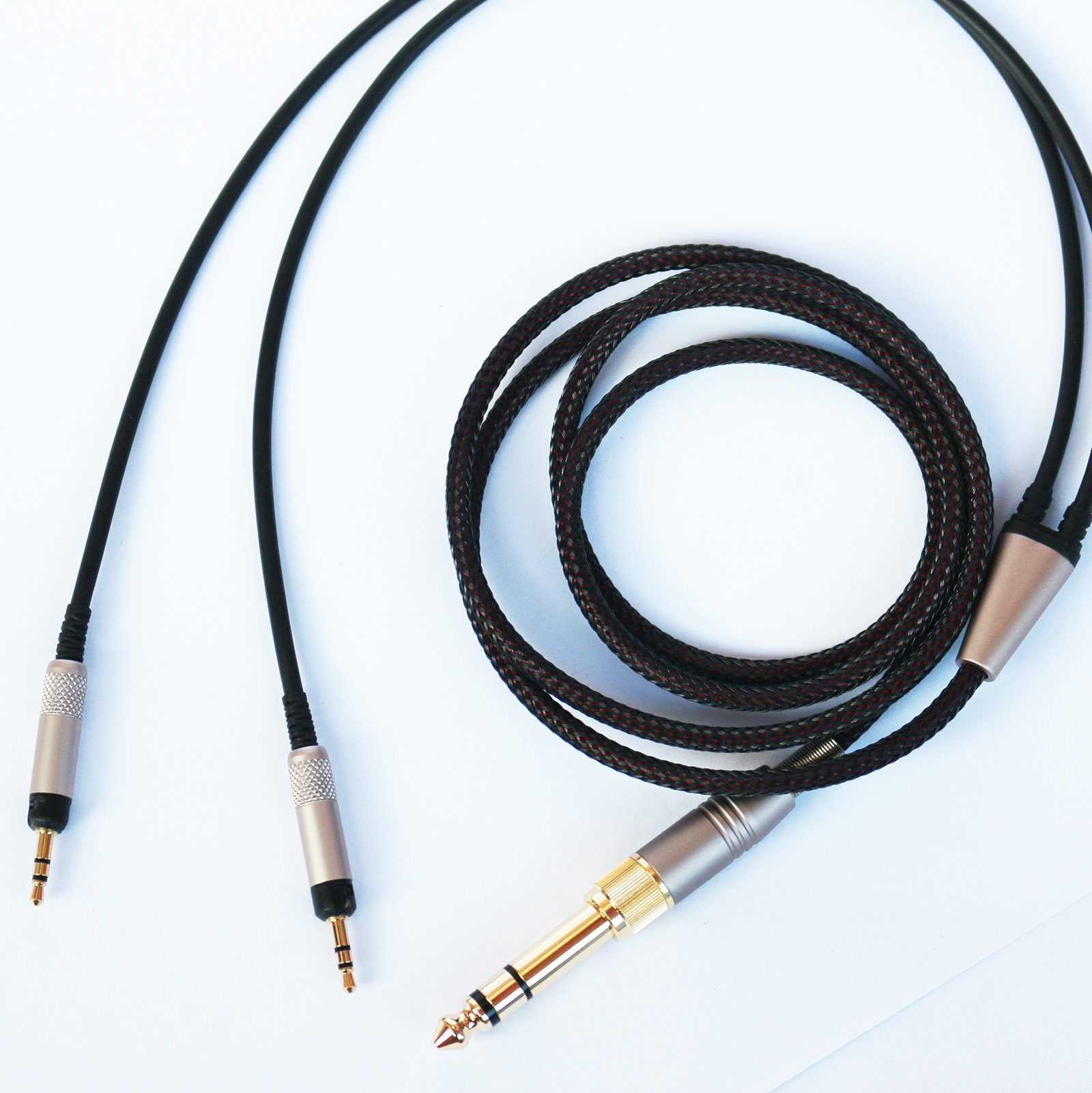 NEOMUSICIA Replacement Upgrade Audio Cable for Audio-Technica ATH-R70x Professional Headphone 2m/6FT