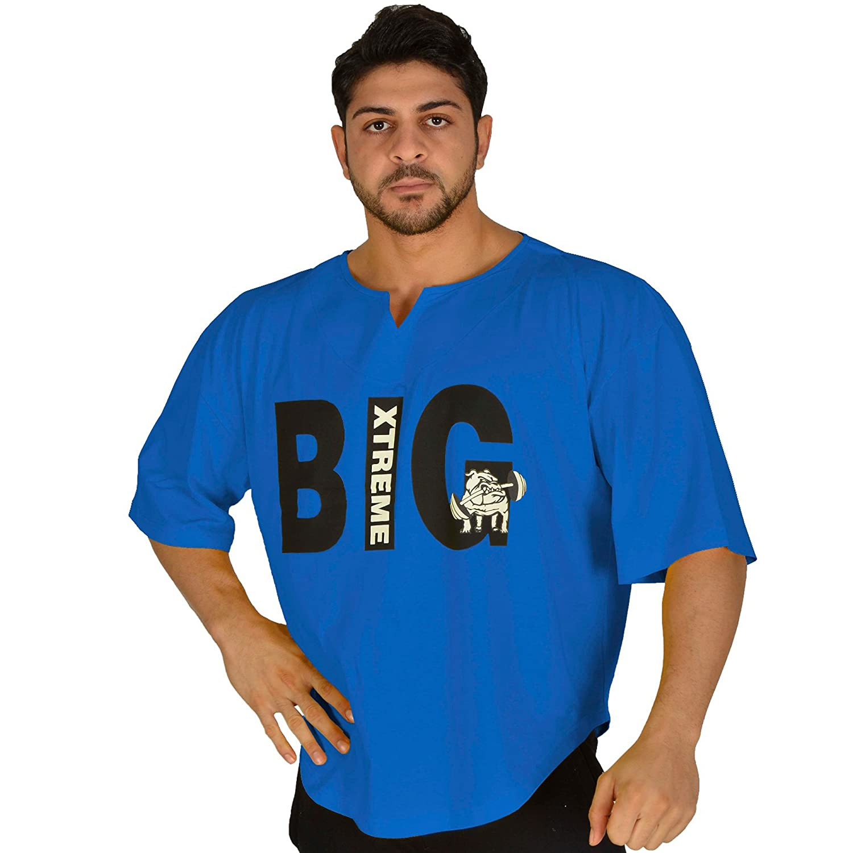BIG SM EXTREME SPORTSWEAR Herren Ragtop Rag Top Sweater T-Shirt Bodybuilding 3220