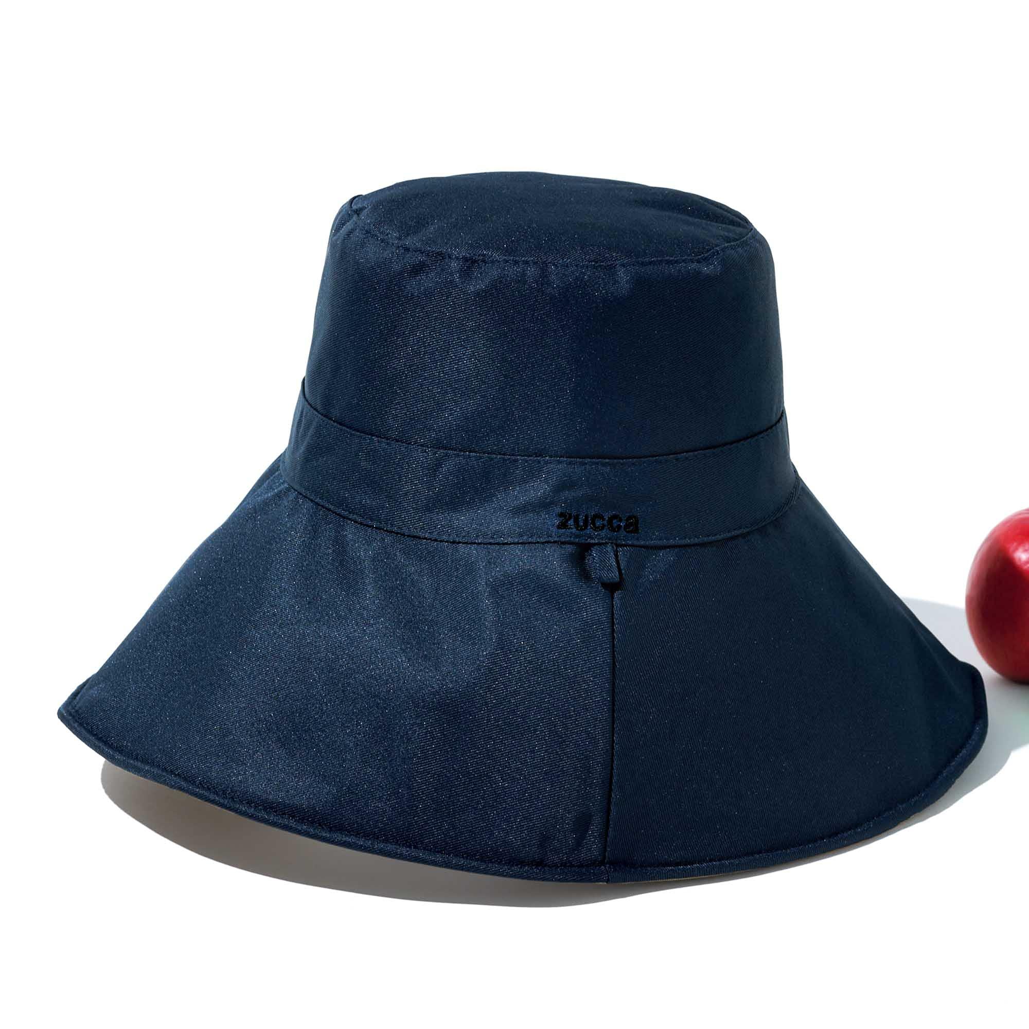 素敵なあの人 2021年9月号:7/16発売【雑誌付録】ZUCCa(ズッカ)両面使えるワイヤー入りUVカット帽子
