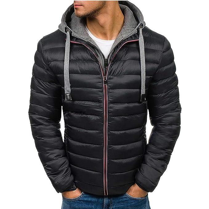 Amazon.com: Chaqueta de invierno para hombre, chaquetas ...