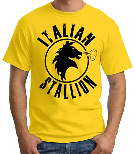 35mm - Camiseta Hombre Italian Stallion Rocky Balboa xRZ3CNeq