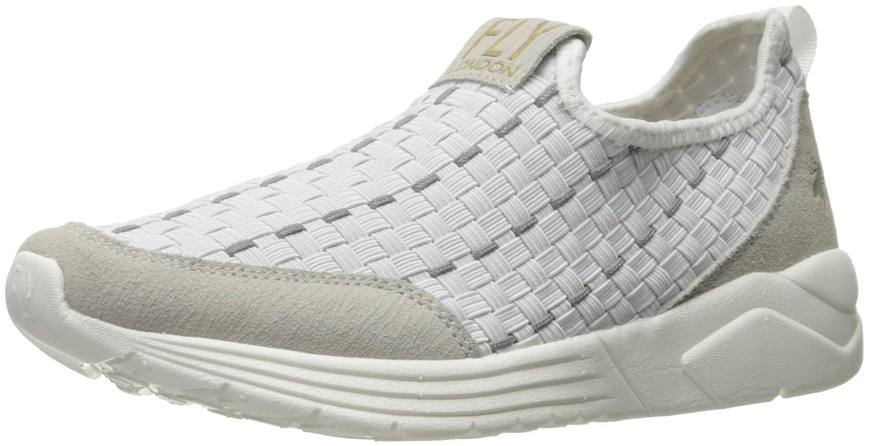 FLY London Women's Sati949fly Fashion Sneaker B01M0G2LUF 38 EU/7.5-8 M US|Off White Suede/Lycra
