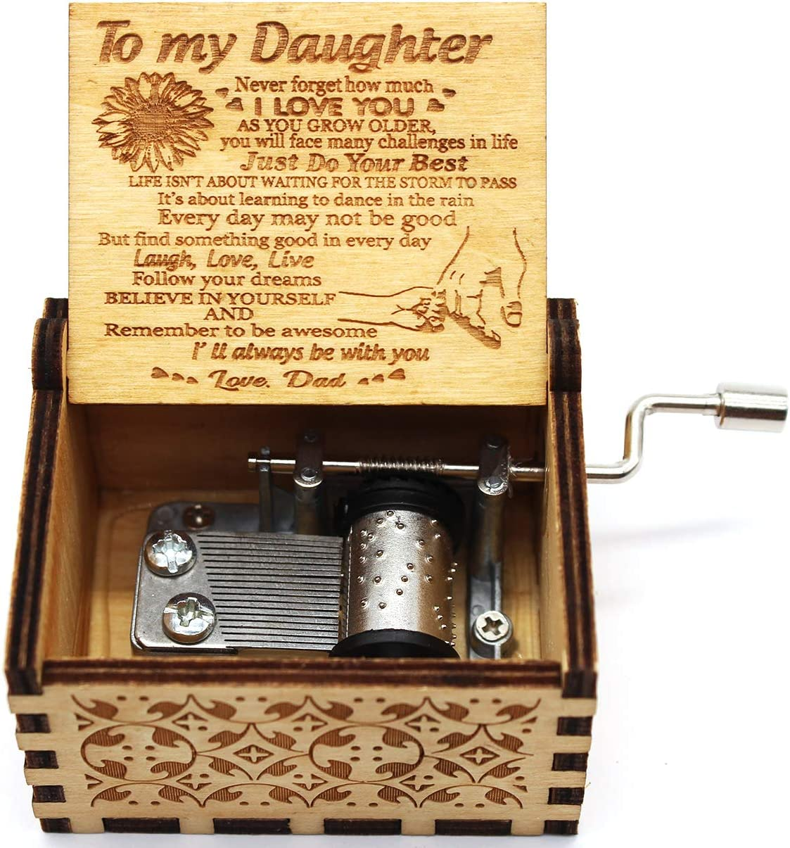 Lastsummer You are My Sunshine Music Box 1 Set(02) Gift from Dad to Daughter