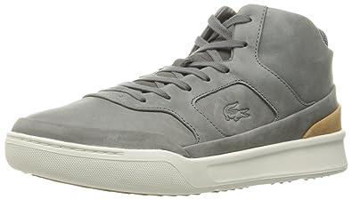 a4b966e9902ced Lacoste Men s Explorateur Mid 316 2 Cam Fashion Sneaker Grey 8 ...