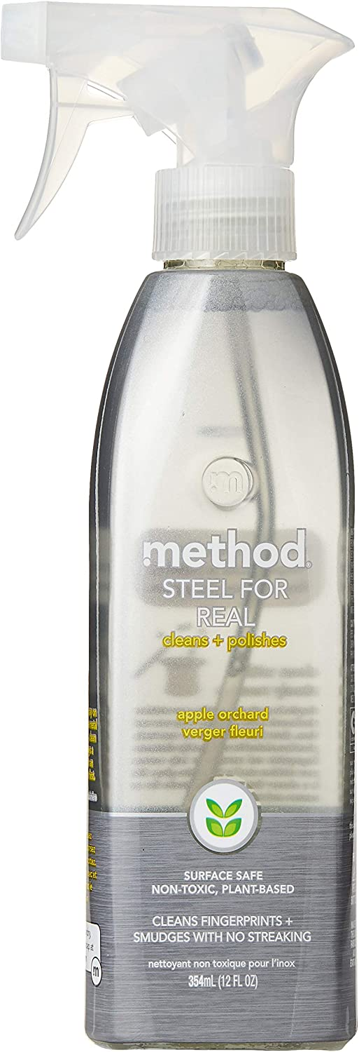 Method Home Care Products 12 Oz Stainless Steel Cleaner & Polisher00084 (Pack of 1)