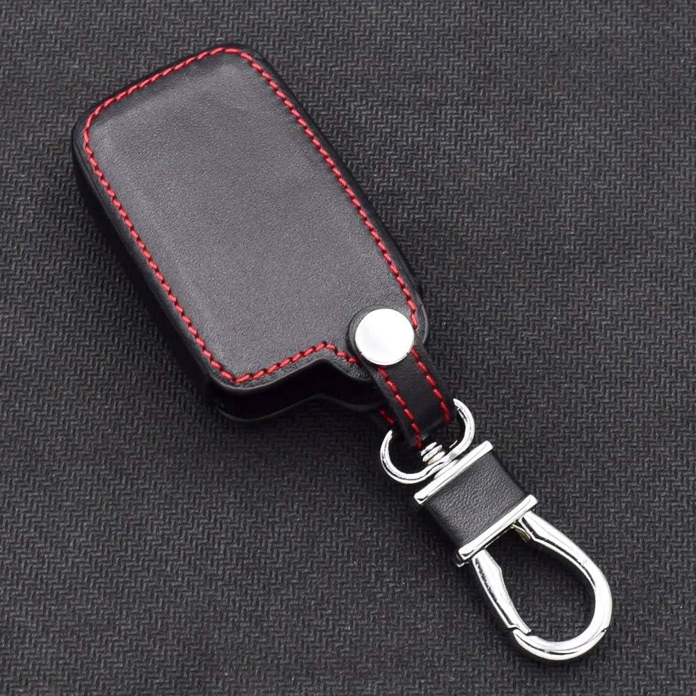 QCCOKNN Custodia Portachiavi per Auto per Toyota Auris Camry RAV4 Avalon Yaris Verso 2012 2018 2 Bottoni Portachiavi Custodia Protettiva Telecomando Senza Chiave