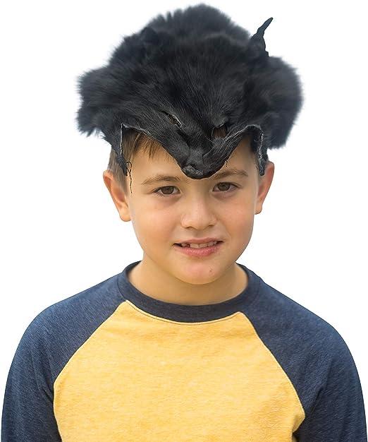 BLACK FOX FUR FACE MASK