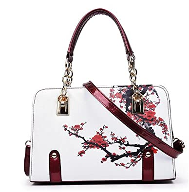 LOKOUO New luxury women Shoulder bag Flower Leather bag handbag women famous brand designer ladies hand