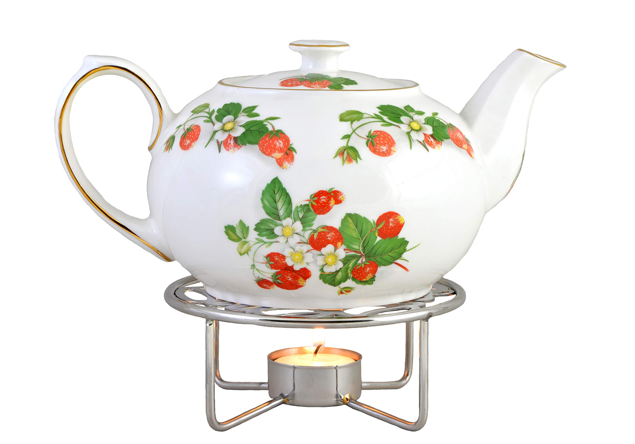 Teapot Warmer - Chrome Plated by Imperial Porcelain Teaware