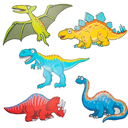 Dinosaur Wall Decals 5 Pack