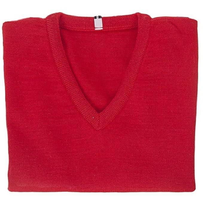 Jersey Uniforme Escolar Cuello de Pico - Color Rojo - Lana y Acrílico -  Fabricación Española  Amazon.es  Ropa y accesorios a046874cd537c