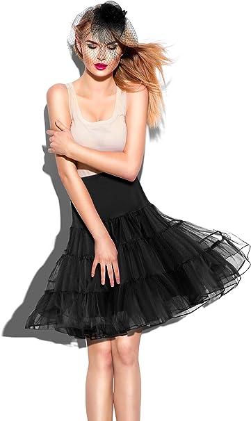 Norme Faldas Vintage de los años 50 con tutú, Faldas y Tocado con ...