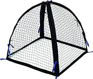 Nuvue 30200 25 Inch Mesh Net Pop Open Pet Animal Pest Control Guard Flower Vegetable Herb Garden Tent Cover with 4 Stakes