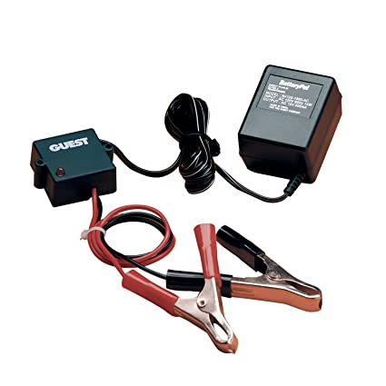 Amazon.com: Guest 2602 Cargador de batería Mantenedor/(12 ...