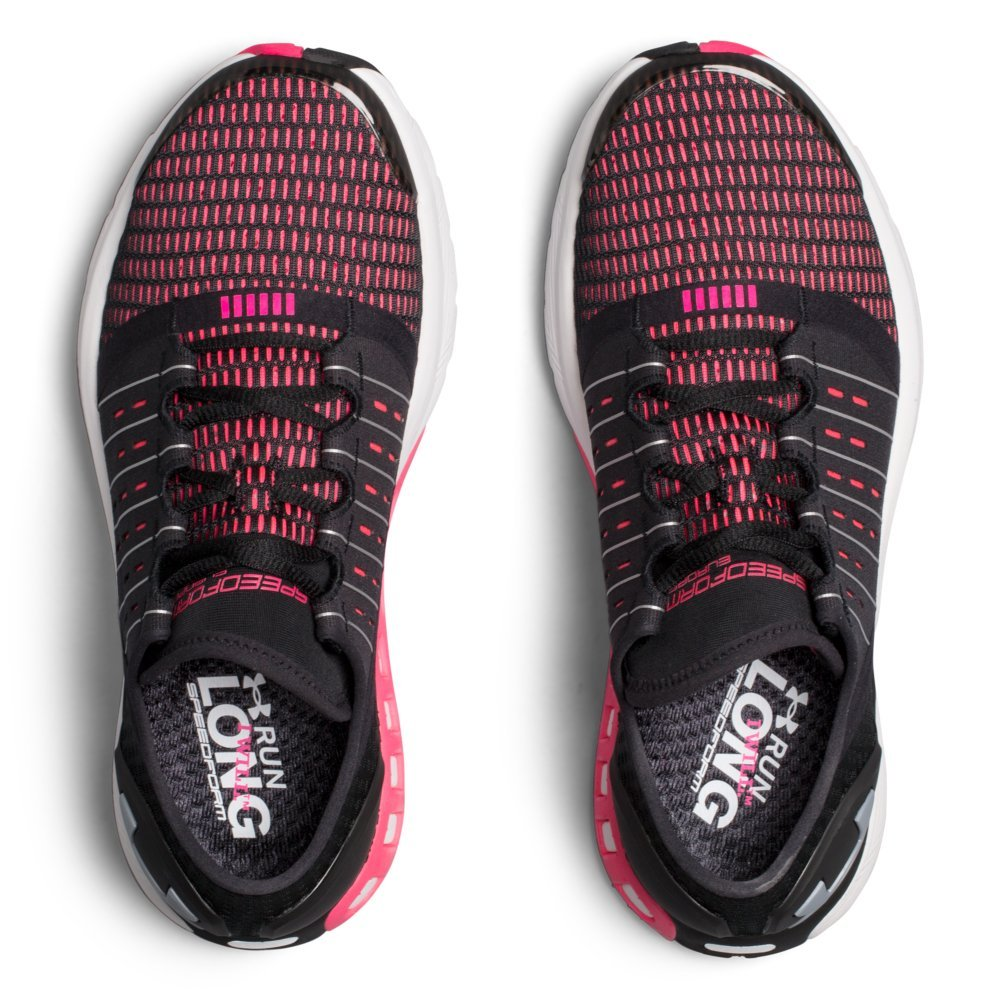 Under Armour Women's Speedform Europa Running Shoe B01N1QO50Z 10 M US|Black (002)/Penta Pink