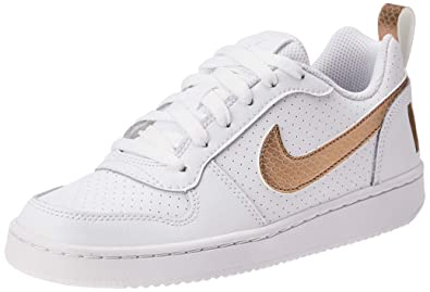 Nike Court Borough Low EP (GS), Scarpe da Basket Donna