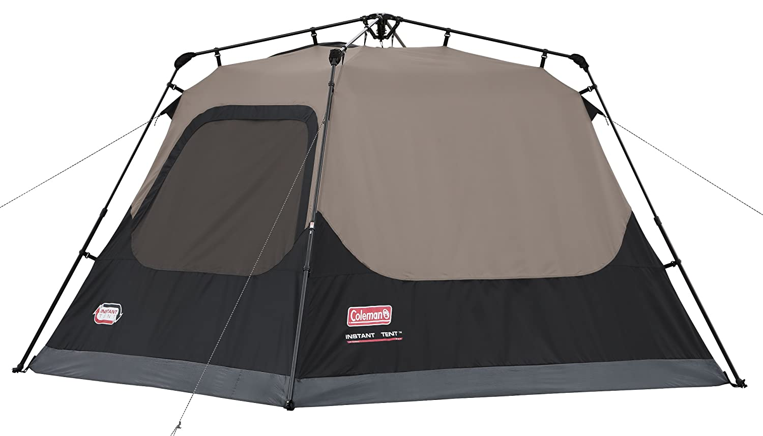Amazon.com  Coleman 4-Person Instant Cabin  Family Tents  Sports u0026 Outdoors  sc 1 st  Amazon.com : coleman 8 person tents - memphite.com