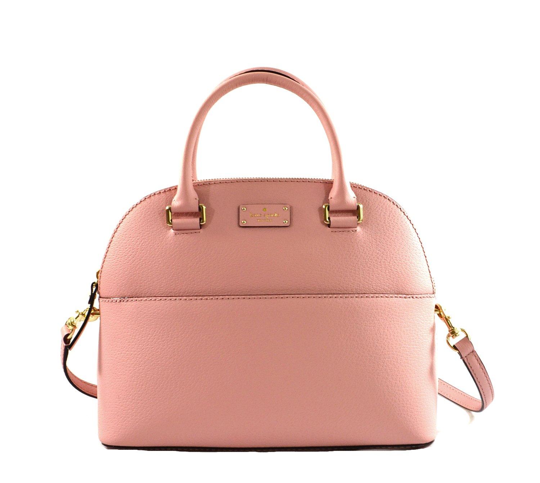 Kate Spade NY Grove Street leather Carli purse (Pinkbonnet)