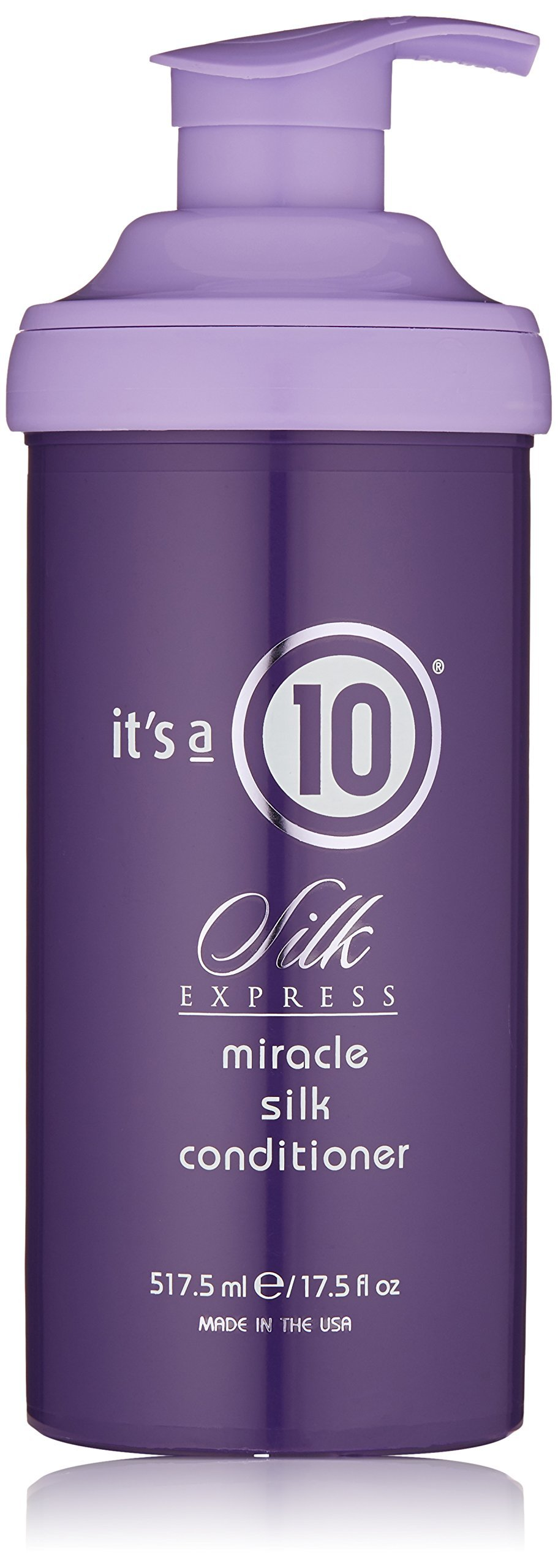 It's a 10 Haircare Silk Express Miracle Silk Conditioner, 17.5 fl. oz.