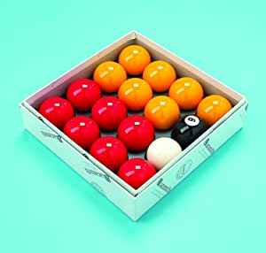 Conjunto de bolas de billar de 2 pulgadas, acabado de Aramith ...