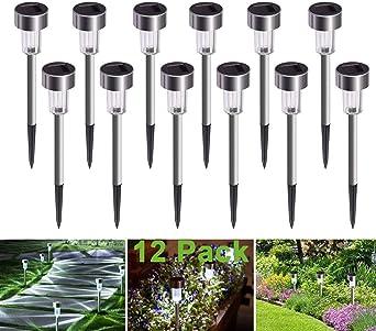 12er 3W LED Bodenleuchte Garten Wegbeleuchtung Bodenstrahler Außenlampe IP65