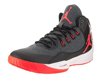 quality design ad9d4 5803b Image Unavailable. Image not available for. Color  NIKE Mens Jordan Rising  HIGH 2, Dark Grey Infrared 23-Black ...