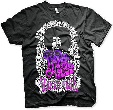 JIMI HENDRIX Unisex Tee Purple Haze T-Shirt 100/% Official Merchandise