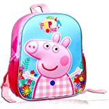 YOURNELO Kids Cute Cartoon Peppa Pig Rucksack School Backpack Bookbag for Boys Girls