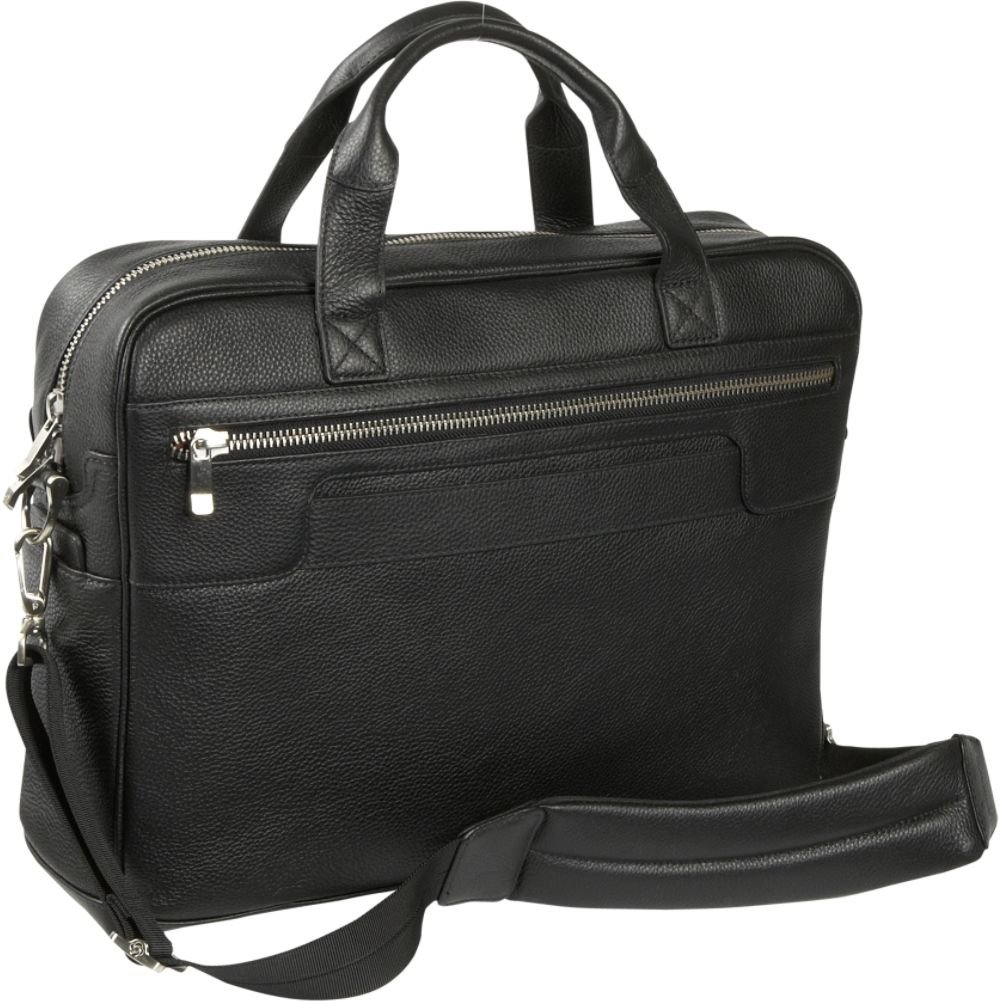 Top Loading Leather Briefcase