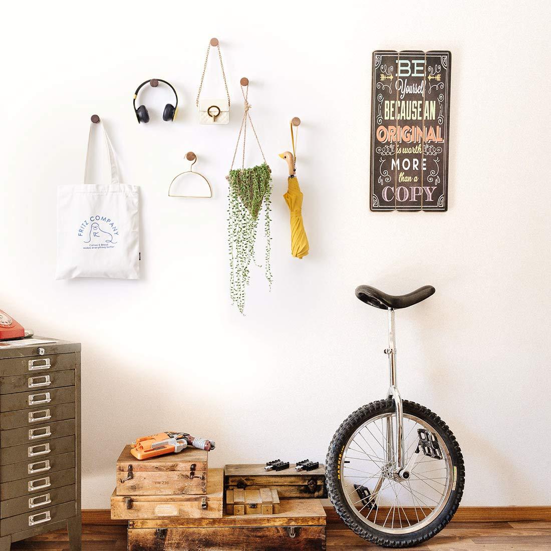 Amazon.com: Hausdeco - Perchero de pared (madera): Office ...