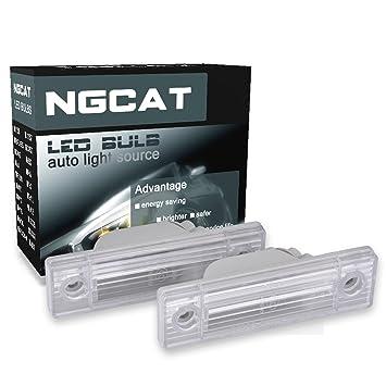 ngcat bombilla LED licencia número placa lámparas de luz Canbus Libre De Errores para para Cruze