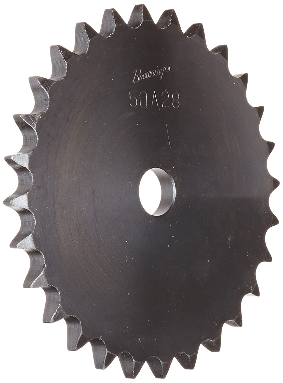 28 Teeth Type A Hub Single Strand Browning 50A28 Plate Roller Chain Sprocket 3//4 Stocked Bore Steel