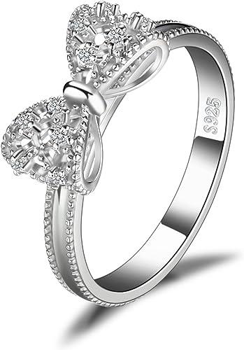 JewelryPalace Zirkonia Jubiläum Ehering Ring Kanal Set 925 Sterling Silber