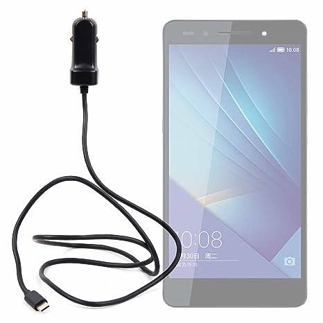 DURAGADGET Cargador de Coche USB C para Smartphone ZTE Nubia ...