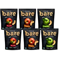 6-Pack Bare Baked Crunchy Apple Chips Variety Pack