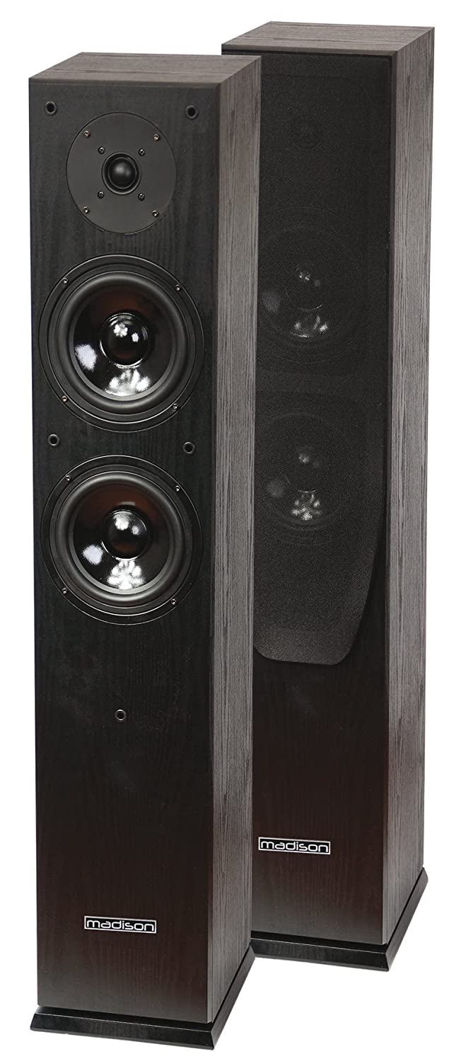 Madison MAD-65BL, Altavoz HQ D65F 2 x 60W, negro