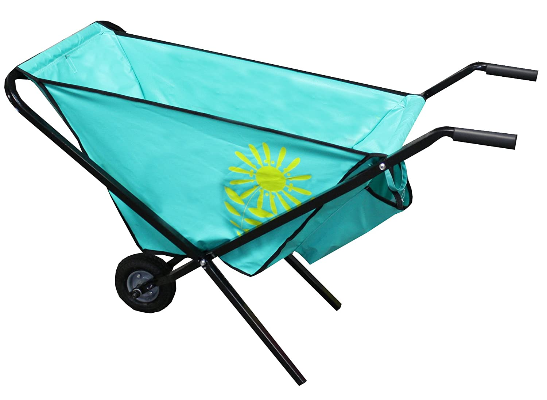 Amazon.com : Lightweight Collapsible Garden Wheelbarrow, 55D4 : Patio, Lawn  U0026 Garden