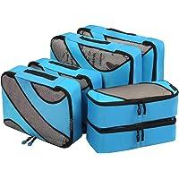 Packing Cube, Reise Kleidertaschen Set, Kofferorganizer Reise Würfel, Kofferorganizer Packtaschen Set Handgepäck, Packwürfel Kleidertaschen, Ordnungssystem