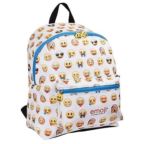 duradero en uso mejores zapatos venta online PERLETTI 13624 - Mochila Emoji con bolsillo frontal 40x30x18cm
