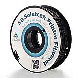 3D Solutech Real Black 3D Printer PLA Filament