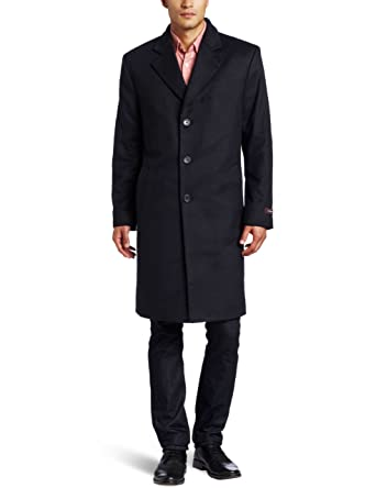 20c65528446 Michael Kors Men s Madison Topcoat at Amazon Men s Clothing store  Wool  Outerwear Coats