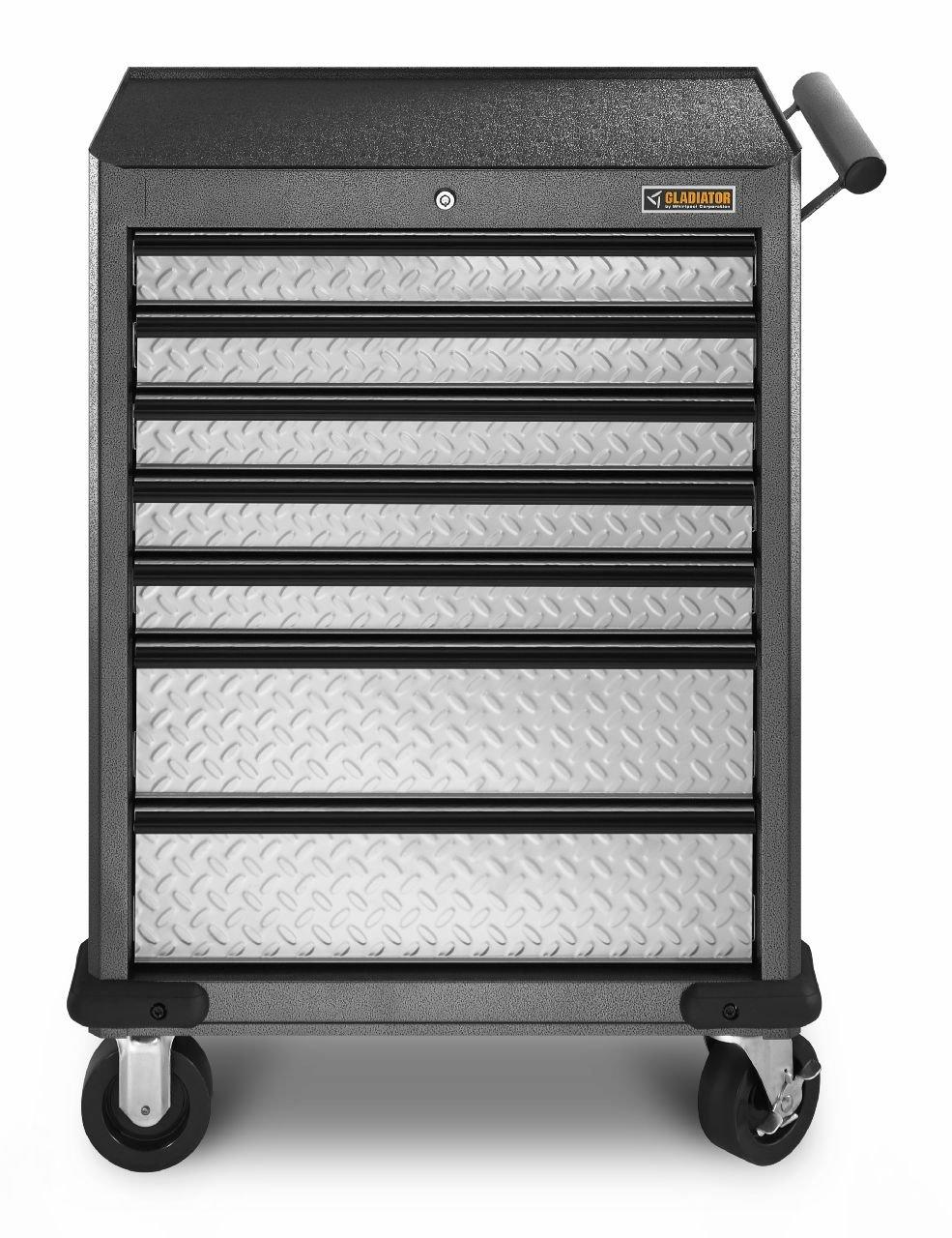 Amazon.com: Gladiator GarageWorks GATR27P7WG Premier 7-Drawer Roll ...
